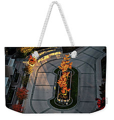 Orange Trees In Autumn Weekender Tote Bag
