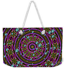 Weekender Tote Bag featuring the photograph Orbital Alignment by Debbie Stahre