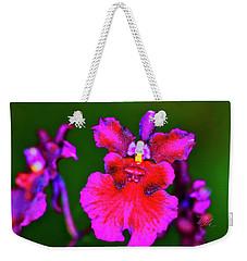 Orchid Study Three Weekender Tote Bag