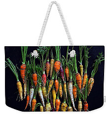 Organic Rainbow Carrots Weekender Tote Bag