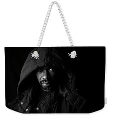 Weekender Tote Bag featuring the photograph Other. by Eric Christopher Jackson