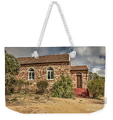 Weekender Tote Bag featuring the photograph Our Lady Queen Of Peace, Yuna, Western Australia by Elaine Teague