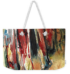 Out Back Behind The Old Red Barn Weekender Tote Bag