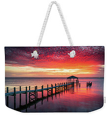 Outer Banks North Carolina Sunset Seascape Photography Duck Nc Weekender Tote Bag