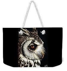 Owl Portrait Weekender Tote Bag