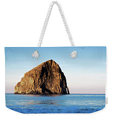 Weekender Tote Bag featuring the photograph Pacific City Cape Kiwanda 101618 by Rospotte Photography