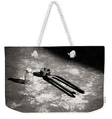 Weekender Tote Bag featuring the photograph Painless Dentistry by Carl Young