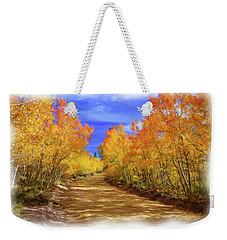 Painted Aspens Weekender Tote Bag