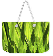 Weekender Tote Bag featuring the photograph Palm Portrait IIi by Leda Robertson
