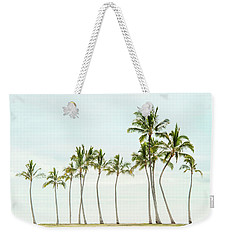 Palm Tree Horizon In Color Weekender Tote Bag