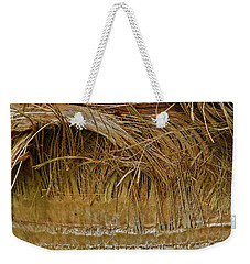 Palm Tree Straw 2 Weekender Tote Bag