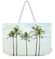 Palm Trees On The Beach Weekender Tote Bag