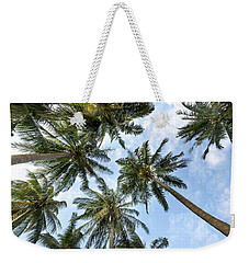 Palms  Beach Weekender Tote Bag