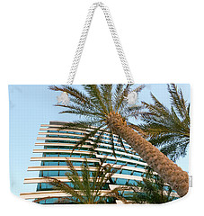 Weekender Tote Bag featuring the photograph Palms Of Dubai by SR Green