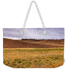 Weekender Tote Bag featuring the photograph Palouse Farmland by David Patterson