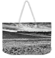 Weekender Tote Bag featuring the photograph Palouse Treeline by David Patterson