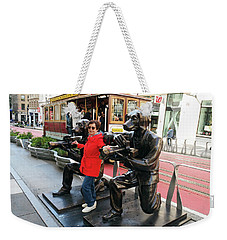 Paparazzi Dogs 2 Weekender Tote Bag