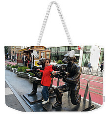 Paparazzi Dogs Weekender Tote Bag