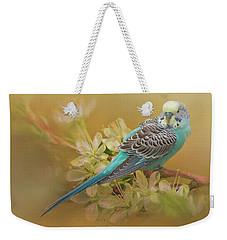 Parakeet Sitting On A Limb Weekender Tote Bag