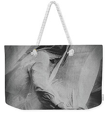 Weekender Tote Bag featuring the photograph Parasomnia by Susan Maxwell Schmidt