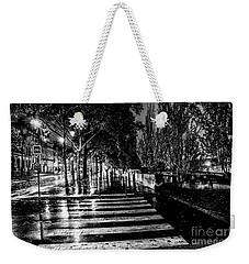 Paris At Night - Quai Voltaire Weekender Tote Bag