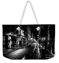 Paris At Night - Rue De Vernueuil Weekender Tote Bag