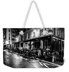 Paris At Night - Rue Jacob Weekender Tote Bag