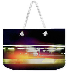 Weekender Tote Bag featuring the photograph Paris Metro by Susan Maxwell Schmidt