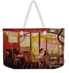 Paris Night Weekender Tote Bag