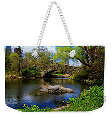 Weekender Tote Bag featuring the photograph Park Bridge2 by Stuart Manning
