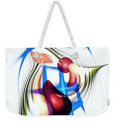 Weekender Tote Bag featuring the digital art Parkour by Anastasiya Malakhova