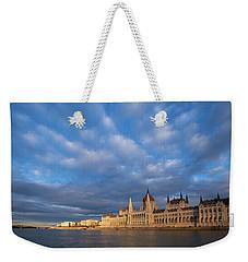 Parliament On The Danube Weekender Tote Bag