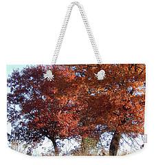 Passing Autumn Weekender Tote Bag