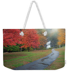 Weekender Tote Bag featuring the photograph Path To The Falls by Bill Wakeley