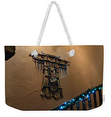 Weekender Tote Bag featuring the photograph Patzcuaro Wall Hanging by Rosanne Licciardi