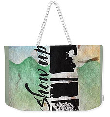 Pay Attention Weekender Tote Bag