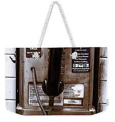 Payphone Weekender Tote Bag