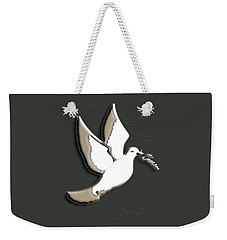 Peace Among The Clouds Weekender Tote Bag