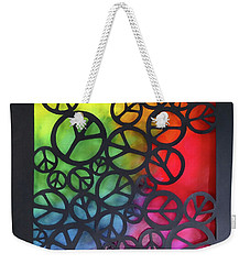 Peace Out Weekender Tote Bag