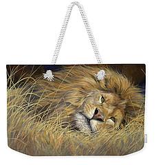 Peaceful King Weekender Tote Bag