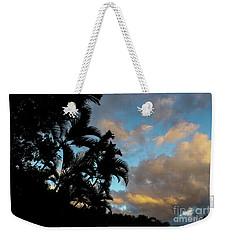 Peach Sunset  Weekender Tote Bag