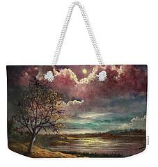 Pearl Of The Night Weekender Tote Bag