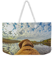 Weekender Tote Bag featuring the photograph Pee Dee Reflections by Matthew Irvin