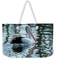 Pelican On The Lake Weekender Tote Bag