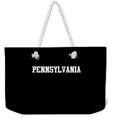 Pennsylvania Weekender Tote Bag