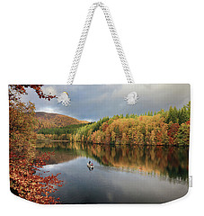 Weekender Tote Bag featuring the photograph Perthshire Autumn by Grant Glendinning