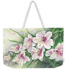 Peruvian Lilies Weekender Tote Bag