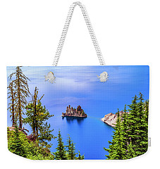 Phantom In Blue Weekender Tote Bag