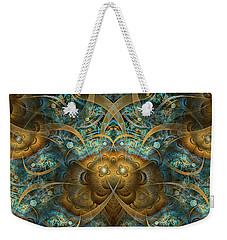 Weekender Tote Bag featuring the digital art Philippians by Missy Gainer