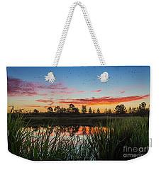 Phinizy Swamp Sunrise - Augusta Ga Weekender Tote Bag